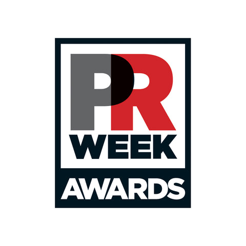 PRWeek Awards 2019 Trophy (Duplicate)