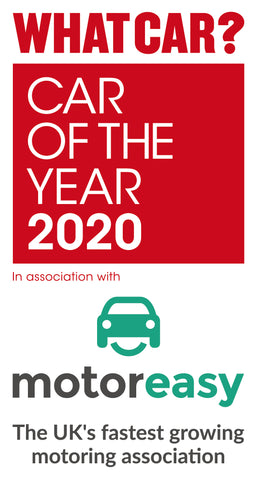 WhatCar? Awards 2020 Trophy