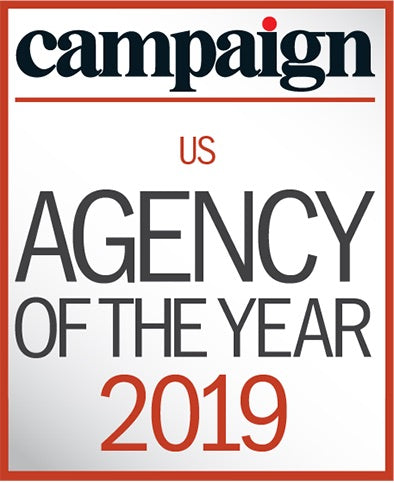 Campaign Agency of the Year US Awards Trophy