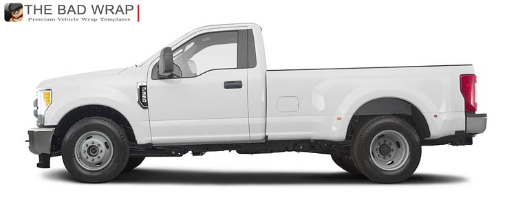 dually ford cab bed regular xl vehicle trucks templates collections reg