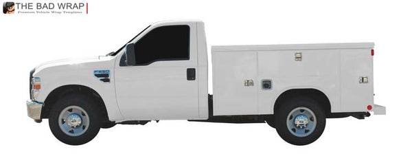 2008 Ford F-250 Regular Cab Mechanics Truck 371