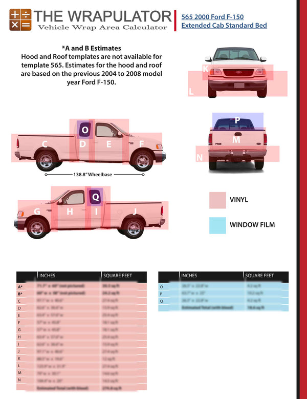 2000 Ford F-150 Super (Extended) Cab Standard Bed 565 PDF
