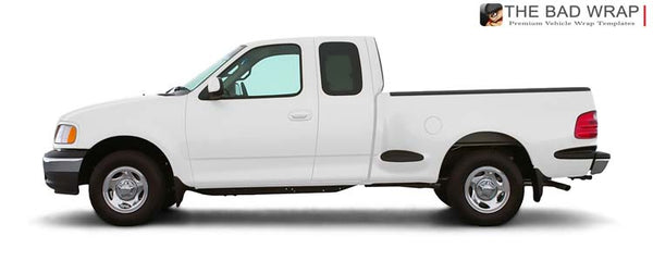 1417 2000 Ford F-150 XL Super (Extended) Cab Standard Bed Flareside