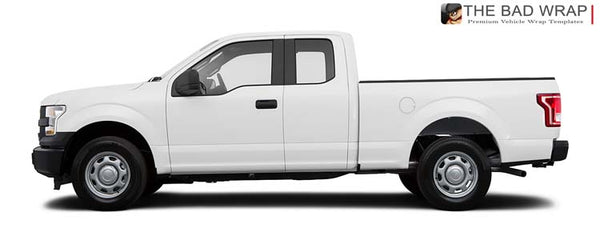 1384 2015 Ford F-150 XL Extended Cab Standard Bed