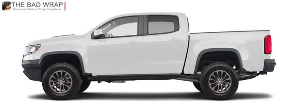 1817 2017 Chevrolet Colorado ZR2 Crew Cab Short Bed