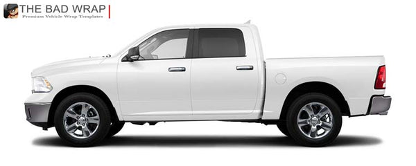 871 2013 Ram 1500 SLT Crew Cab, Short Bed 5' 7""