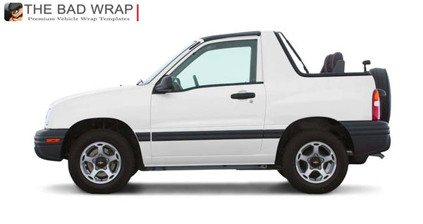 1441 2001 Chevrolet Tracker Convertible