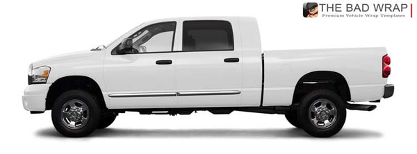 1249 2008 Dodge Ram 2500 SXT Mega Cab Short Bed