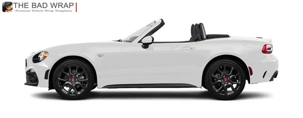 1752 2017 Fiat 124 Spider Abarth Roadster