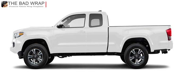 1577 2016 Toyota Tacoma TRD Sport Access (Extended) Cab Standard Bed