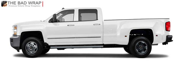 1209 2015 Chevrolet Silverado 3500 HD LTZ Crew Cab, Long Bed Dually