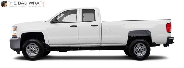 1183 2015 Chevrolet Silverado 2500HD WT Extended Cab Long Bed