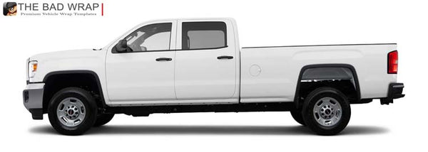 1253 2015 GMC Sierra 2500HD Crew Cab Long Bed