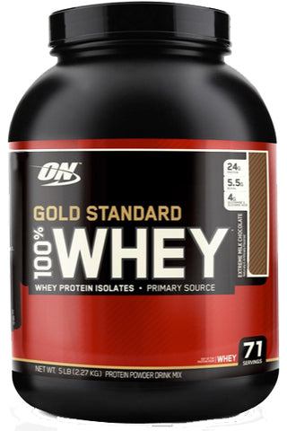 ON Gold Standard Whey - 2.27 KGS - 70 Serves - Extreme Milk Chocolate