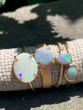 Load image into Gallery viewer, Summer Sky Australian Opal Rings
