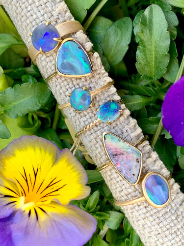 Summer Shore Australian Opal Rings