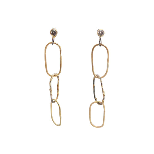 Breezy Chain Link Earrings