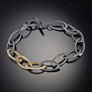 Faceted Link Bracelet