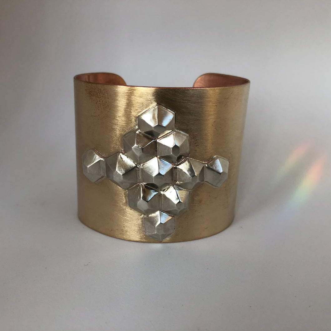Bronze Power Cuff- Medallia