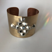 Load image into Gallery viewer, Bronze Power Cuff- Medallia
