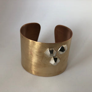 Bronze Power Cuff- Trio