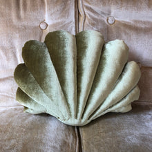 Load image into Gallery viewer, Small Shell Pillow- Chartreuse