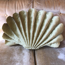Load image into Gallery viewer, Large Shell Pillow-Chartreuse