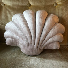 Load image into Gallery viewer, Small Shell Pillow- Light Pink