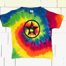 Load image into Gallery viewer, Youth Tie-Dye Blockstar T-Shirt