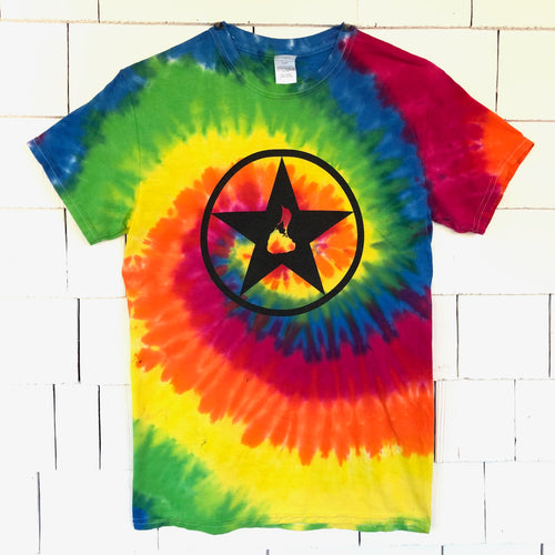 Adult Tie-Dye Blockstar T-Shirt