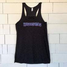 "Load image into Gallery viewer, Women's Grey Blockstar ""Graffiti"" Tank Top"