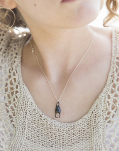 Skate Egg Case Necklace