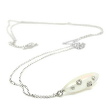 Load image into Gallery viewer, Mother of Pearl Barnacle Necklace