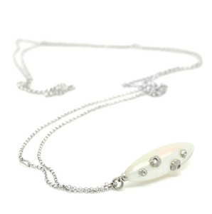 Mother of Pearl Barnacle Necklace