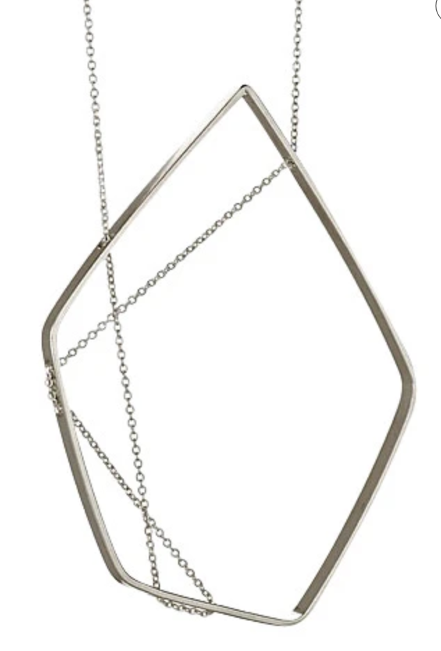 Forme necklace in silver