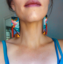 Load image into Gallery viewer, Mount Shasta Earrings