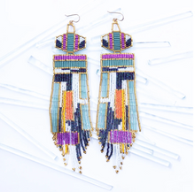 Load image into Gallery viewer, Earth Girl Earrings