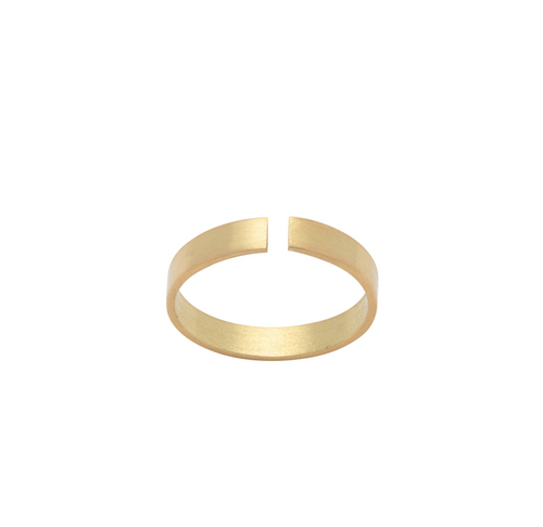 18k Recycled Gold Gap Ring