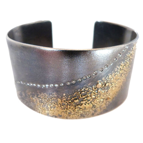 Slice Diamond Cuff Bracelet
