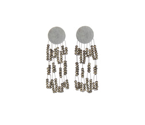 Pyrite Deco Earrings