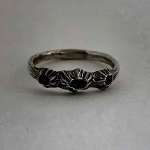 Stacking Barnacle Ring- Sterling