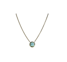 Load image into Gallery viewer, Small circle necklace