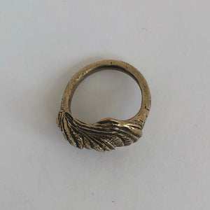 Oyster Ring- Bronze