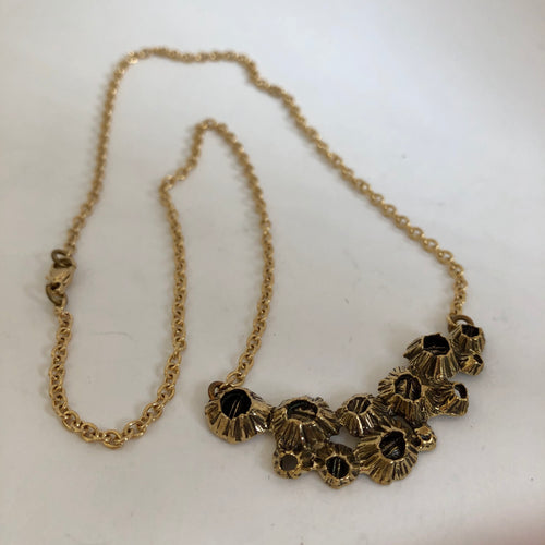 Intertidal Barnacle Necklace- Bronze
