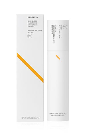 Neoderma Blue Blood Face Tinted Sunscreen Natural