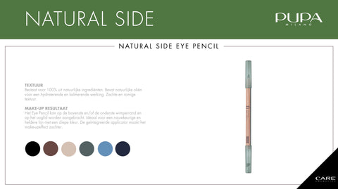 Pupa Natural Side Eye Pencil