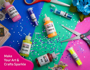Extra Fine Glitter Set of 60 Vibrant Colors