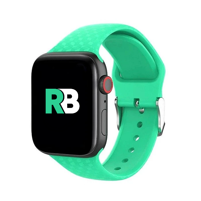 Matrix Silicone | Apple Watch Band - Banana Watch Bands