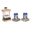 Can Chilling Coaster Set Granite Beer Can Chilling Coaster Set