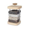 Bottle Chilling Coaster Set Caddy with Coasters
